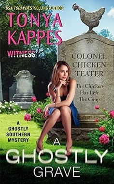 Girls With Books: Book Tour: A Ghostly Grave by Tonya Kappes