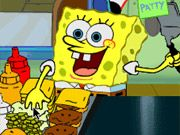 Free Online Girl Games, Spongebob Flip or Flop - Spongebob needs your help cooking Krabby Patties in this cooking flash game!  Help Spongebob flip as many burgers as possible and get them out to customers before his shift ends!, #spongebob #restaurant #hamburger #time management #grilling #cooking