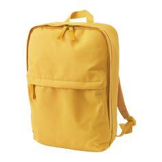 IKEA - STARTTID, Rugzak, De tas heeft een losse binnentas waar je ook spullen in kan bewaren. Dit losse tasje is uitneembaar en je kan het meenemen als je niet de hele tas wilt meeslepen.