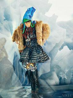 Ice Age, Vogue Korea December 2013: Hye Park