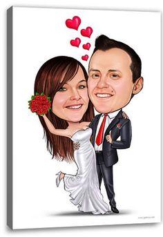 Servus Leute, habt ihr euch schon unsere Karikaturen vom Foto angeschaut? Die sind ein super Geschenk für jedermann und eignen sich prima für Hochzeiten, Geburtstage oder Weihnachten. Unsere Karikaturen werden von unseren eigenen, professionellen Künstlern in aufwändiger Handarbeit erstellt und sind in vielen verschiedenen Designs erhältlich. Da ist garantiert für jeden etwas dabei. Seht euch doch mal um. Hier ist der Link zum Shop:  http://www.galleryy.net/gal/Karikatur+vom+Foto/