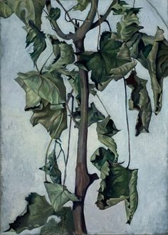 'Decayed Sycamore Leaves' 36 x 25 cm (14 x 10 inches) oil on canvas. private collection.