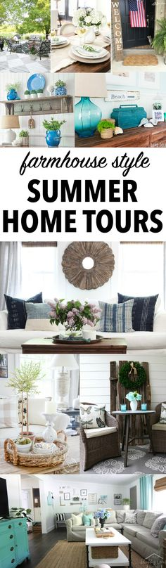 Summer House Tour an