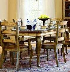 Country French Rectangle Dining