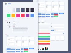 Style Guide Inspirations — Muzli -Design Inspiration — Medium - Very clean and a great overview on this one!