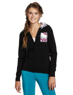 Hello Kitty Juniors Hk Loves Me Printed Hoodie - Listing price: $39.00 Now: $23.40 + Free Shipping