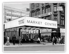 The Underground Market - around about where Tesco is now.  I seem to remember that it linked up to the Arndale Market underneath Market Street but I may be mistaken.  Bought a lumberjack coat from here - fashion victim...
