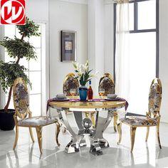 Redondo de la manera simple mesa de comedor superior de mármol de diseño-en Mesas de Comedor de Muebles de comedor en m.spanish.alibaba.com.