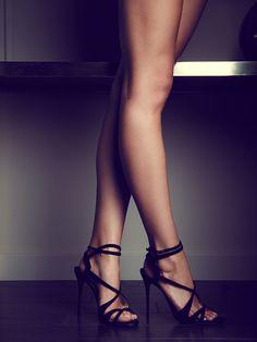 Strappy heels with <3 from JDzigner www.jdzigner.com
