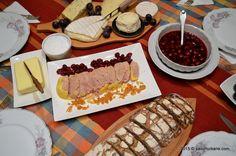 Bufet suedez - idei de preparate reci festive | Savori Urbane Prosciutto, Waffles, Dairy, Cheese, Breakfast, Food, Morning Coffee, Essen, Waffle