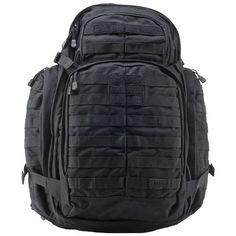 5 11 Tactical Rush 72 Backpack Black MOLLE Survival Waterproof Bag 56892 | eBay