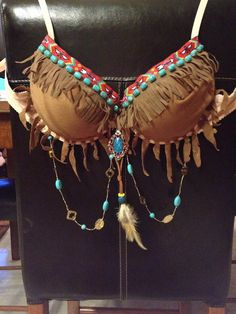 Native American Bra Any Size on Etsy, $56.00