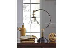 Asahavey Desk Lamp by Ashley HomeStore, Bronze Finish