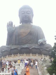 The Giant Buddah in Hong Kong