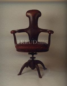 Sigmund Freud's armchair - Sometimes a chair is just a chair...