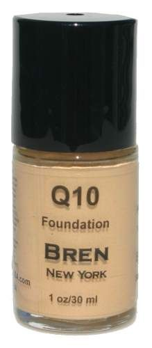 CoQ10 Foundation Shade Bisque  Get an instant face-lift!  Contains Co-Enzyme Q10, an anti-aging ingredient that will minimize fine lines, smooth out wrinkles, and leave skin feeling youthful and luminous.. Provides a medium to full matte finish.  1 oz. Made in the USA $24.00