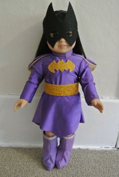 Hey, I found this really awesome Etsy listing at http://www.etsy.com/listing/155094896/superhero-costume-for-18-inch-doll