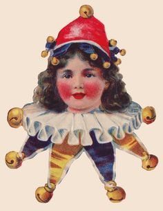 Victorian Stickers ~ Circus