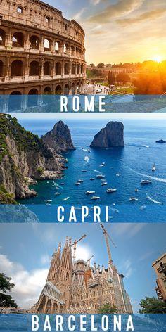 Naples Capri, Capri Italy, Rome Italy, Cruise Destinations, Cruise Vacation, Jamie's Italian, San Gennaro, Harmony Of The Seas, The Catacombs