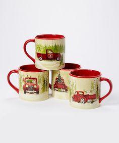 Christmas Vacation Mug - Set of Four #zulily #zulilyfinds