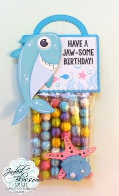 The Cricut Bug: Have A Jaw-Some Birthday!