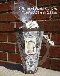 Qbee's Quest: Scored Coffee Cup Tutorial