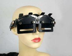 Sci-Fi Steampunk Sunglasses : Hi Tek Futuristic Eye Wear