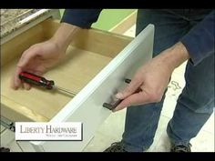 After watching this short video, now you'll know how to install the cabinet knobs and pulls you purchased!
