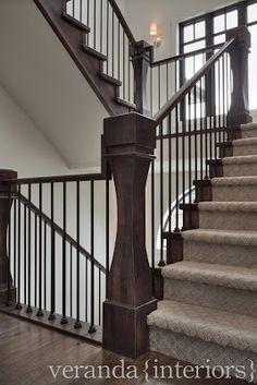 Watermark {Spyglass} Stairs // Veranda Estate Homes & Interiors