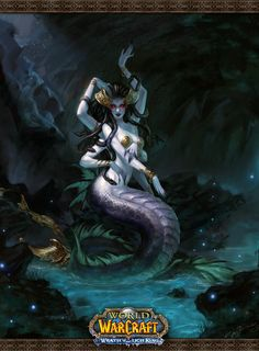 I don't play WoW, I just think this is wickedly beautiful. I love mermaids.