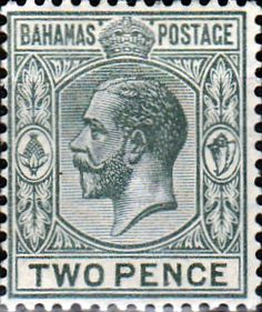 Bahamas 1912 George V SG 83 Fine Mint Scott 50A Other Bahamas Stamps HERE