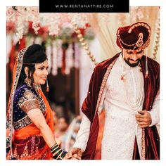 """Love is like a beautiful flower which I may not touch, but whose fragrance makes the garden a place of delight just the same."" -Intimate Weddings Be Like Rent our beautiful collection of wedding outfits for your special day at www.rentanattire.com. Contact us on 7722009477 or visit our store located at Warje Pune. #rentanattire #raahappyclient #happyclient #makeinindia #sustainablefashion #rentalfashion #intimatewedding #bridalwear #groomstyle #weddingdress #fashionstatement #couplegoals Maroon Suit, Glamorous Outfits, Lehenga Gown, Indian Models, Groom Style, Intimate Weddings, Wedding Outfits, Bridal Sets, Pune"