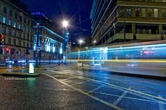I love Light Trail Photography. This is one we played with whilst learning how to use photoshop...