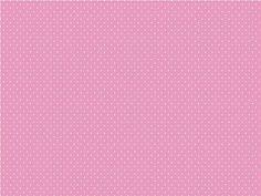 rosa chiclete com poá branco - IB 268 agulha - Panoah