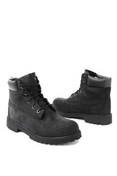 Timberland 6-Inch Classic | Black Waterproof Boots | AKIRA