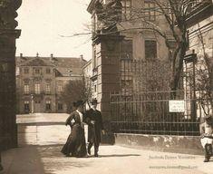 Pałac Czapskich znajdujący się przy Krakowskim Przedmieściu, 1911 rok…