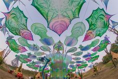 Ozora Festival 2013 - Dancefloor by Day