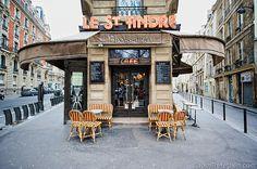 Paris 6e -  Le St Andre Brasserie - 36 Rue Saint-André des Arts - Flickr - Photo Sharing - photo: Josh Trefethen
