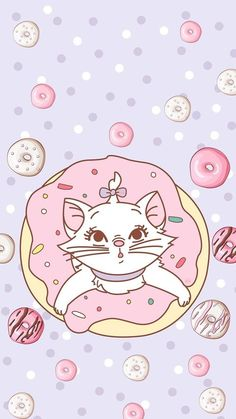 Image about cute in Disney by Alex on We Heart It Disney Phone Wallpaper, Cute Wallpaper For Phone, Kawaii Wallpaper, Cat Wallpaper, Mobile Wallpaper, Pattern Wallpaper, Iphone Wallpaper, Kawaii Disney, Disney Cats