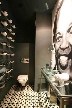 Lou Rawl ... a bathroom at Protea Hotel Fire & Ice