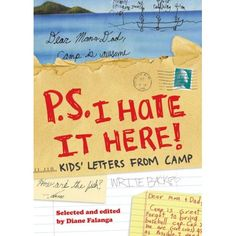 Every parent can relate to these (or camper's who found the letters they wrote home as younger campers) Camp Care Packages, Letters For Kids, Little Cabin, Great Books, Hate, Parenting, 1, Camping, Writing