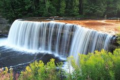 13 Magnificent Michigan Waterfalls