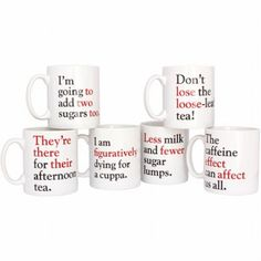 Grammar Grumble Mugs Are a Great Gift for Anyone!