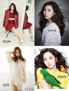 박신혜, 신세경, 김소은, 박민영    Park ShinHye, Shin SeKyung, Kim SoEun, Park MinYoung