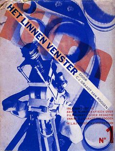 A Dutch film periodical cover designed by Piet Zwart 1931
