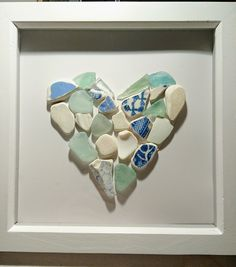 Sea glass and pottery... Facebook #junktofunk