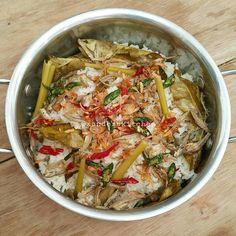 Nasi Liwet Teri (pakai rice cooker)