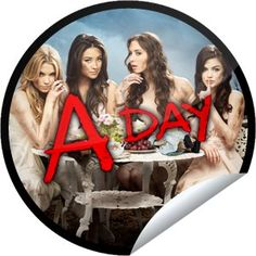 Pretty Little Liars: A-Day. Today is the big day! Pretty Little Liars Seasons, I'm Still Here, Abc Family, Tv Show Quotes, Squad Goals, Best Shows Ever, Favorite Tv Shows, The Funny, Big Day