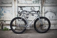 Side view racer, Campagnolo 68, Columbus Tubi