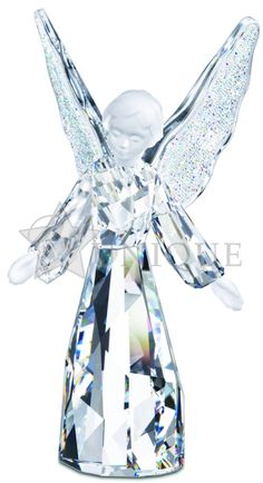 Swarovski Crystal: Angel Figurine - Unique Gifts
